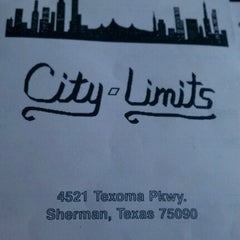 Photo taken at City Limits by Charles Gary M. on 8/31/2012