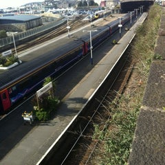 Photo taken at Penzance Railway Station (PNZ) by Charlie Q. on 4/24/2012