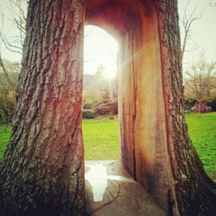 Photo taken at Highland Park Poet's Garden by Joe S. on 4/30/2012