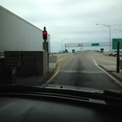 Photo taken at Toll Plaza by Andrew S. on 5/11/2012