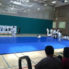 Photo taken at Walnut Gymnasium - Teen Center by Emily X. on 6/16/2012