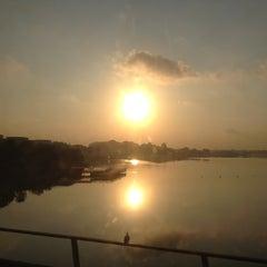 Photo taken at Khatib MRT Station (NS14) by Garrett on 8/7/2012