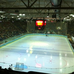Photo taken at Swiss Arena by Rolf S. on 8/4/2012