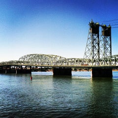 Photo taken at Interstate Bridge by Steve on 8/17/2012