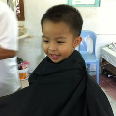 Photo taken at Kedai Gunting Rambut by MZS P. on 4/21/2012
