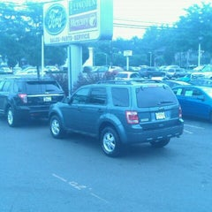 Photo taken at All American Ford Paramus by Mike K. on 7/28/2012