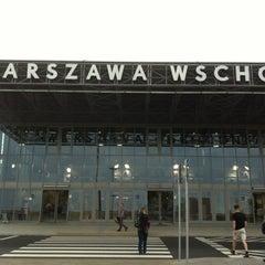 Photo taken at Warszawa Wschodnia by Krzysztof M. on 6/20/2012
