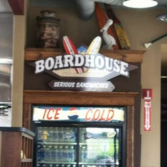 Photo taken at Boardhouse Sandwiches by Super K. on 4/11/2012