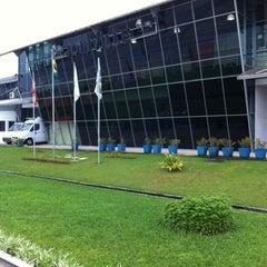 Photo taken at Aeroporto de Joinville / Lauro Carneiro de Loyola (JOI) by Nilson H. on 7/28/2012