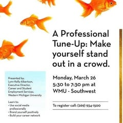 Photo taken at Western Michigan University (WMU-Southwest) by Liz H. on 3/25/2012