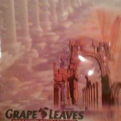Photo taken at Grape Leaves Restaurant by Tim M. on 3/16/2012
