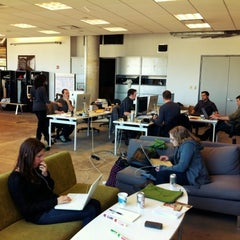 Photo taken at Contently HQ by Erica S. on 5/2/2012