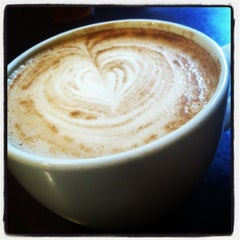 Photo taken at Dollop Coffee & Tea Co. by Nic on 9/1/2012