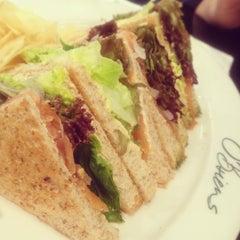 Photo taken at O'Briens Irish Sandwich Bar by Ezzan Y. on 6/8/2012