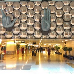 Photo taken at Indira Gandhi International Airport (DEL) by Ketan D. on 8/8/2012