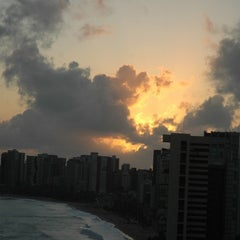 Photo taken at Hotel Beira Mar by Luciano R. on 7/10/2012