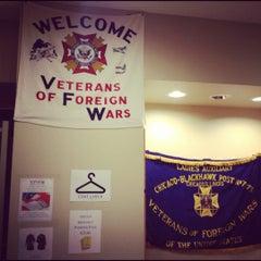 Photo taken at VFW Blackhawk Post 7975 by Dan L. on 3/20/2012