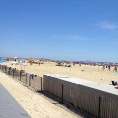 Photo taken at Belmar Beach by Dr. Brod H. on 7/22/2012
