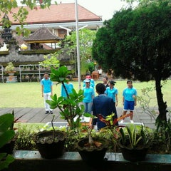 Photo taken at SMAN 1 Kuta Utara by Yuda H. on 3/4/2012
