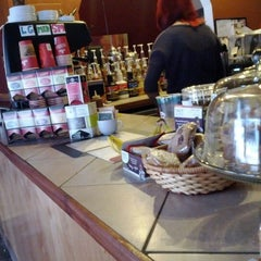 Photo taken at The Happy Cappuccino Coffee House by Steve B. on 5/25/2012