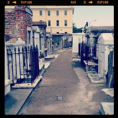 Photo taken at St. Louis Cemetery No. 1 by Rey Q. on 4/5/2012