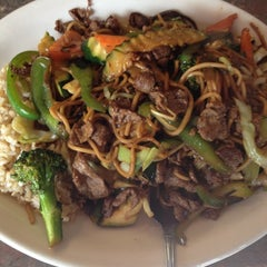 Photo taken at Mongolian Grill by Tina N. on 3/22/2012