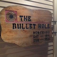 Photo taken at The Bullet Hole by Zach K. on 3/17/2012