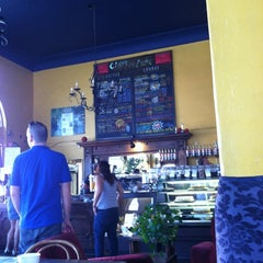 """Photo taken at Claire de Lune Coffee Lounge by John """"Gio"""" P. on 6/30/2012"""