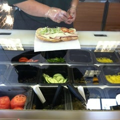 Photo taken at SUBWAY by Aaron T. on 7/28/2012