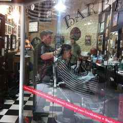 Photo taken at Barbearia 9 de Julho by Ivan on 6/30/2012