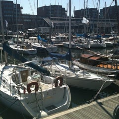Photo taken at Jachthaven Scheveningen by Annemarie D. on 5/27/2012
