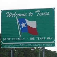 Photo taken at Louisiana / Texas State Line by Lindsay D. on 5/8/2012