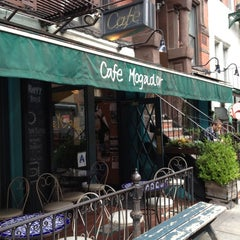 Photo taken at Cafe Mogador by Lee H. on 6/4/2012