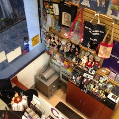 Photo taken at Libreria Gandhi by Tucho Q. on 3/18/2012