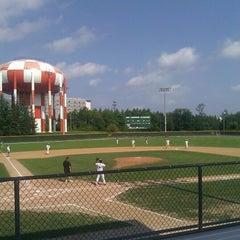 Photo taken at Joe Cannon Stadium by Mark S. on 9/8/2012
