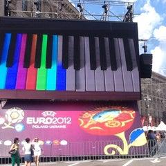 Photo taken at Official Fan Zone of UEFA EURO 2012 by Artem Z. on 6/19/2012