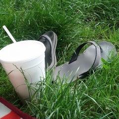 Photo taken at McCarren Park by Ryan G. on 6/10/2012