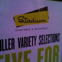 Photo taken at Stadium Sports Bar And Restaurant by Katherine K. on 8/6/2012