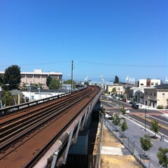 Photo taken at West Oakland BART Station by Timothy P. on 6/19/2012