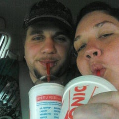 Photo taken at SONIC Drive In by Bianca C. on 5/12/2012
