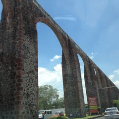 Photo taken at Santiago de Querétaro by Karina on 8/7/2012