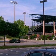 Photo taken at Joe Cannon Stadium by Jim M. on 6/14/2012