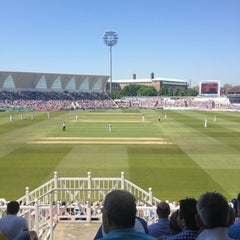 Photo taken at Trent Bridge Cricket Ground by Steve C. on 5/25/2012