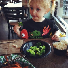 Photo taken at Blue Planet Natural Grill by Megan H. on 3/12/2012