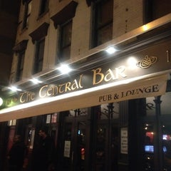 Photo taken at Central Bar by Greg B. on 4/1/2012
