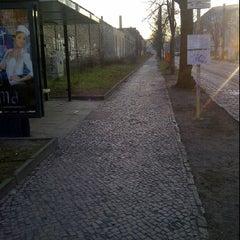 Photo taken at Linie M1 Am Kupfergraben - Schillerstraße / Rosenthal Nord by Tina on 3/24/2012