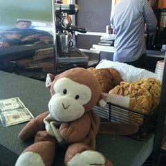 Photo taken at Green Bean Coffee by Bruce N. on 4/14/2012