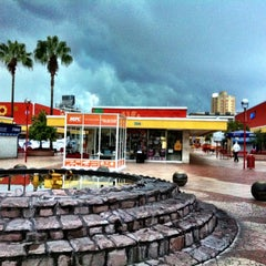 Photo taken at Plaza del Sol by Raul A. on 7/31/2012