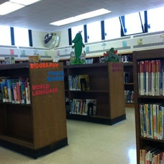 Photo taken at New York Public Library - Pelham Bay Library by lauren on 4/9/2012