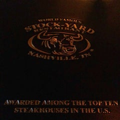 Photo taken at Stock-Yard Restaurant by Danielle C. on 6/8/2012